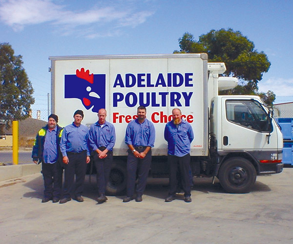 Adelaide Poultry Despatch Team